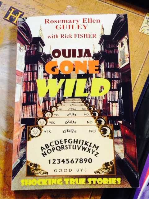 "Fisher is co-author of the book ""Ouija Gone Wild."""