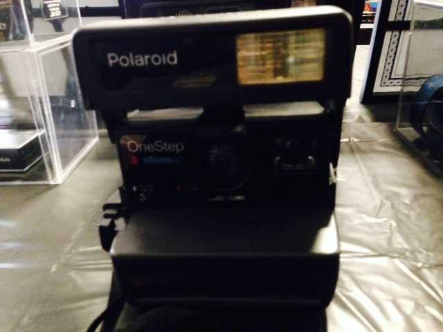When was the last time you saw one of these? It's a Polaroid camera!