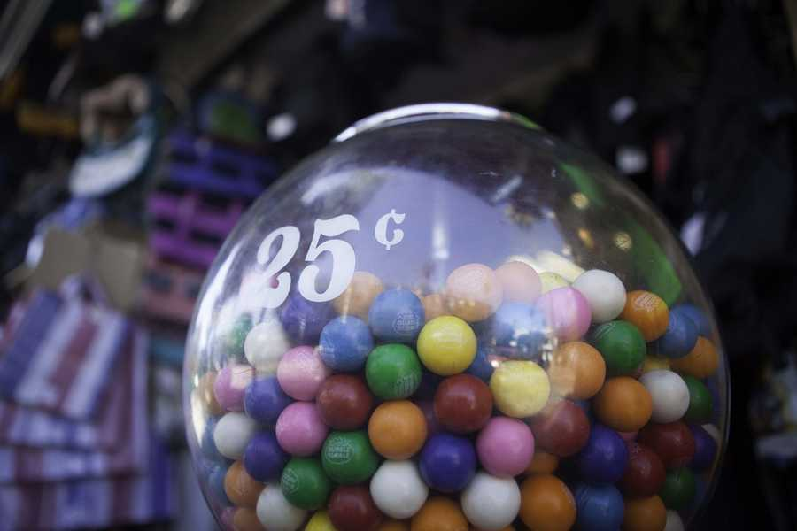 Diemer accidentally stumbled upon a formula that was less sticky and provided more flexibility than other chewing gums which allowed for bubbles to be blown.(Source: history.about.com)