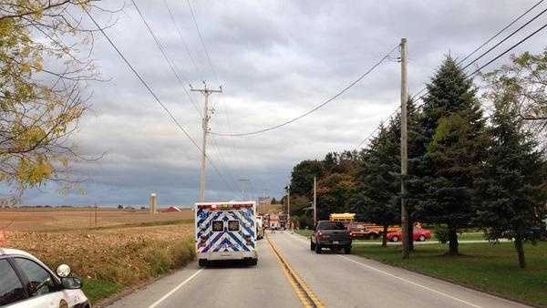 A school bus crash in York County late Tuesday afternoon sent nine students to the hospital.