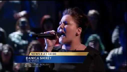 """Tonight on NBC's """"The Voice"""", Susquehanna Valley native DaNica Shirey of Red Lion, York County competed in the battle round."""