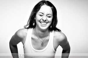 The staff at Evolution Power Yoga had photos taken to promote the selfie series.
