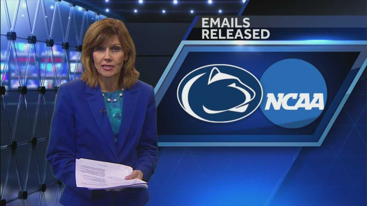 Newly released emails show the NCAA questioned its authority to impose the sanctions it did against Penn State.