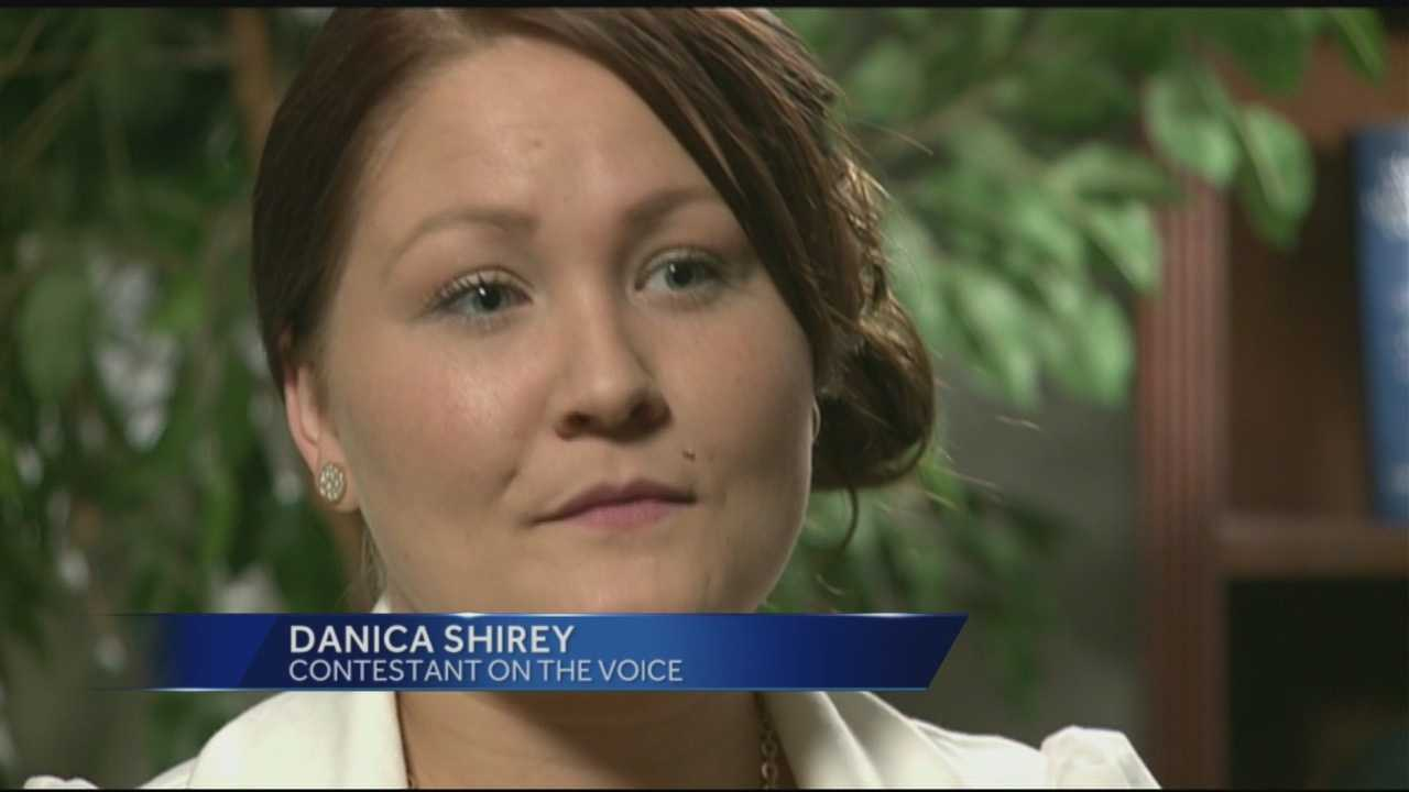 It's coming down to the wire for hometown contestant Danica Shirey on 'The Voice' and the pressure is mounting. News 8's Lori Burkholder talks to her about what she's feeling.