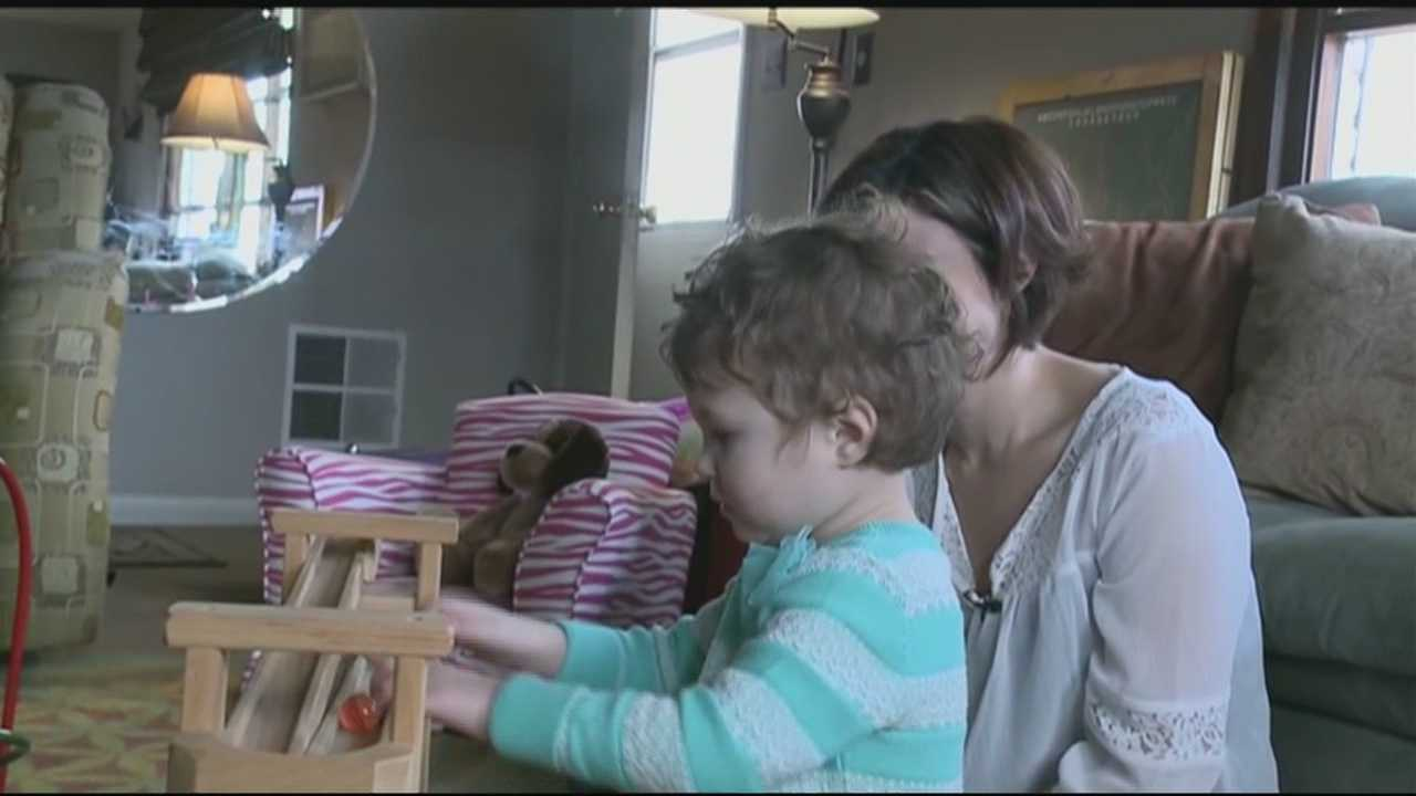 Kennedy Stevenson is three years old, and she needs a new liver.