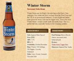 Winter Storm from Heavy Seas Beer in Baltimore, Maryland.