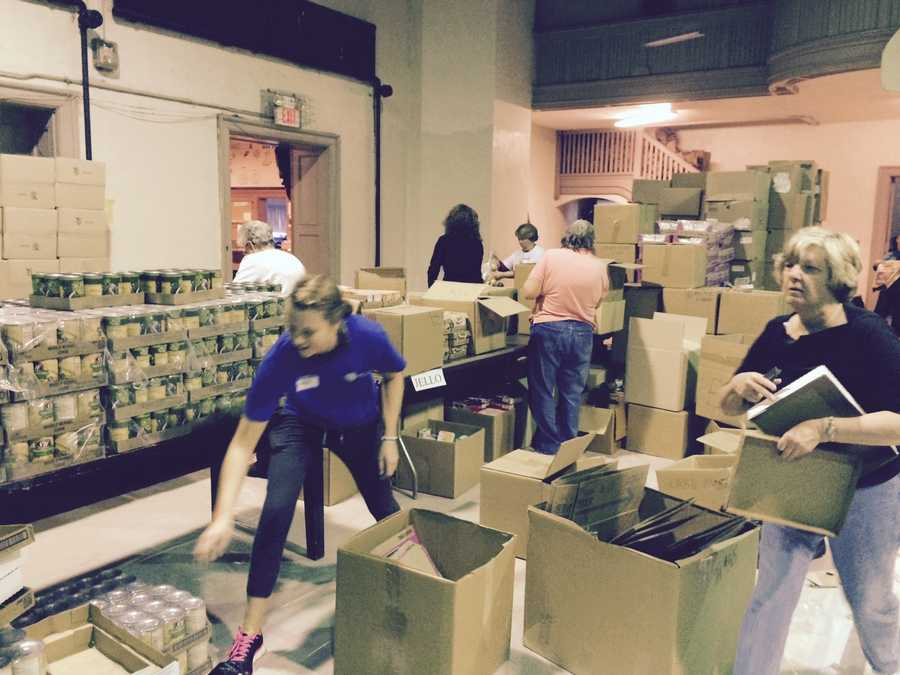 YRM plans to distribute 1,670 Thanksgiving food baskets this year.