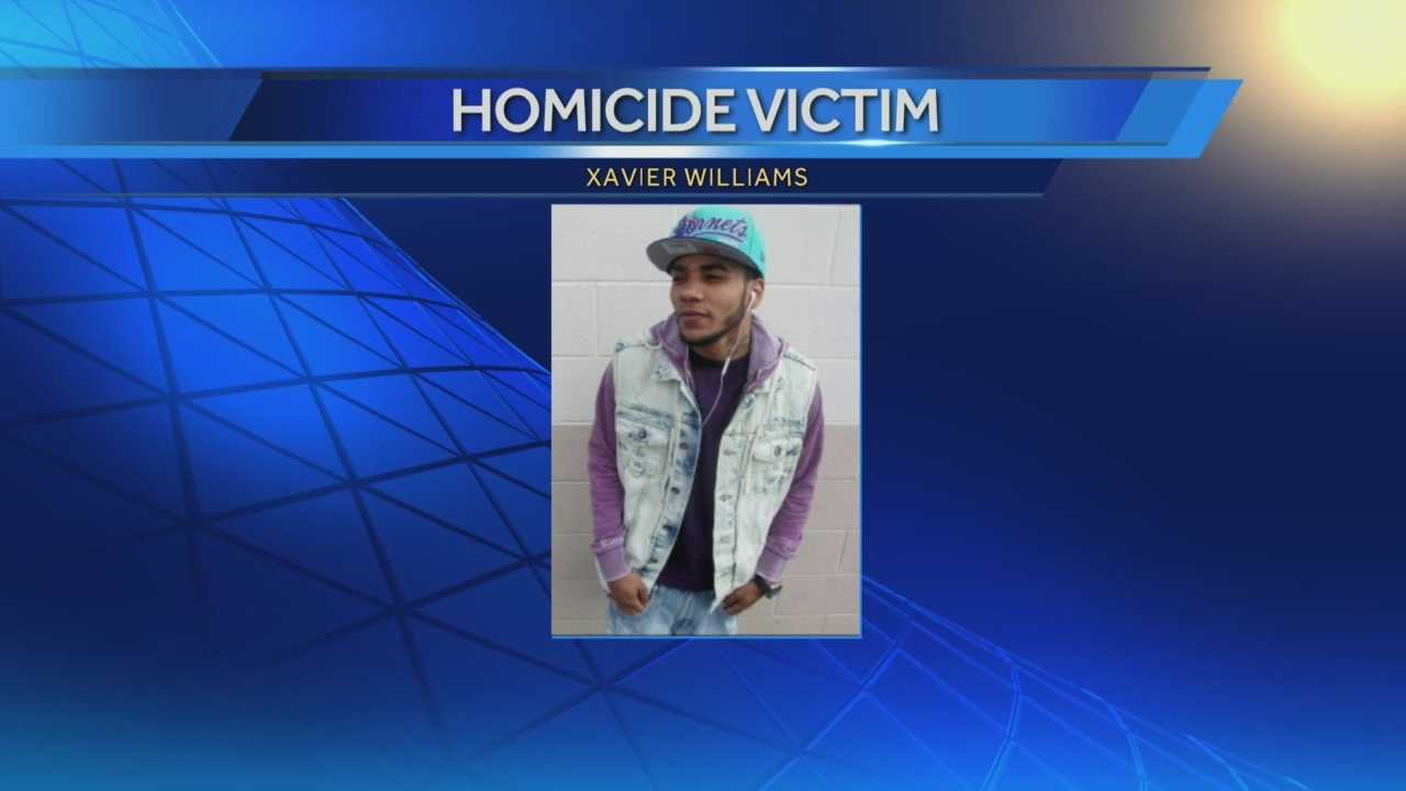 Police say 23-year-old Xavier Williams was shot and killed in Harrisburg on Sunday.