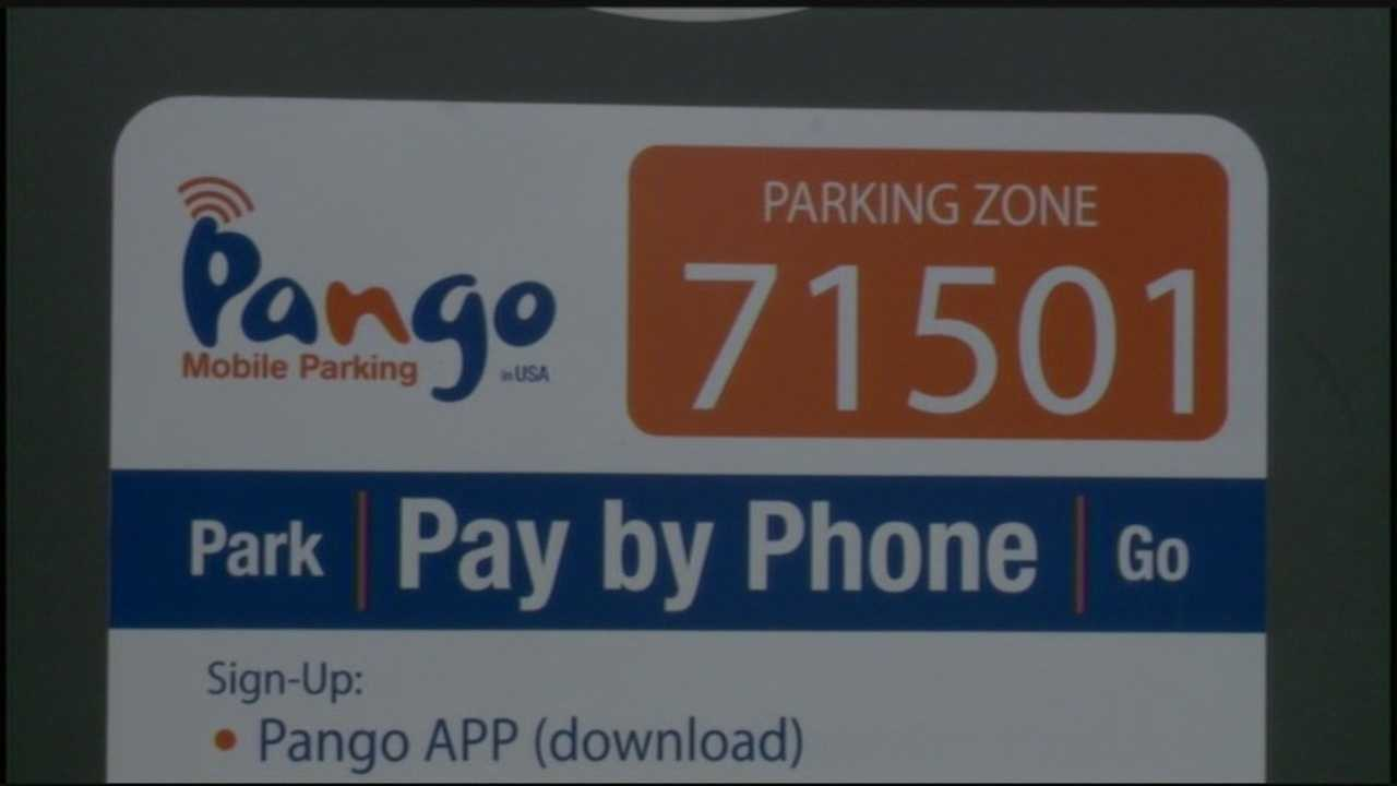 Mayor Eric Papenfuse announced Tuesday that you can now pay for parking in Harrisburg on your smart phone through an app called Pango.