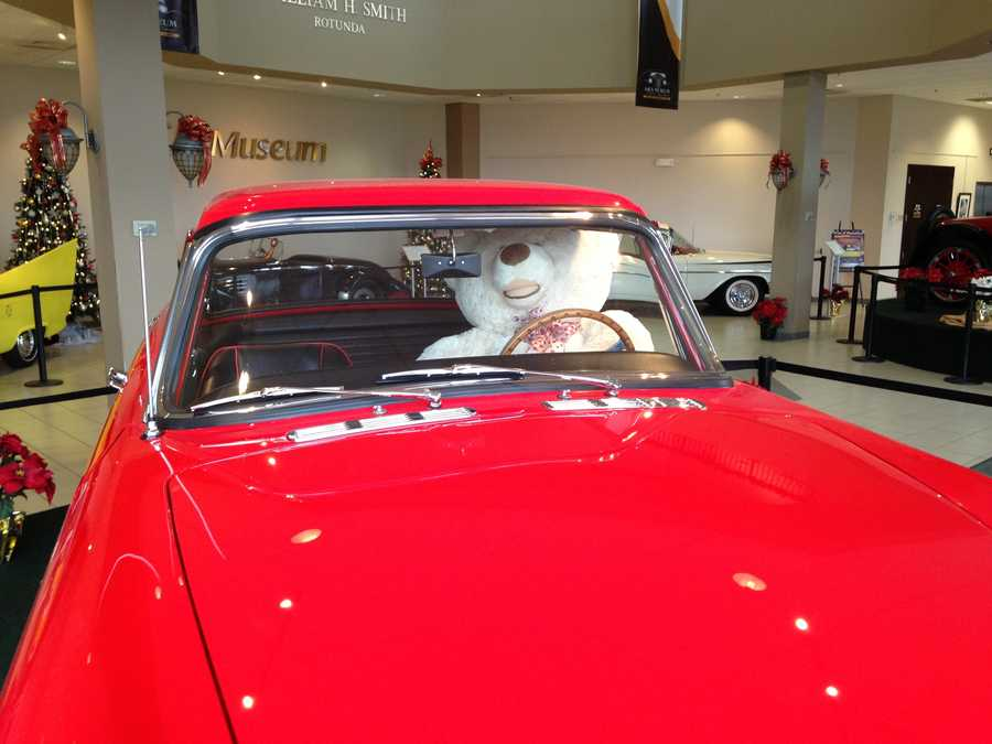 """The Antique Automobile Club of America Museum in Hershey, PA, is hosting its annual """"Cars and Christmas"""" display. Click through to see some of the nation's best classic cars!"""