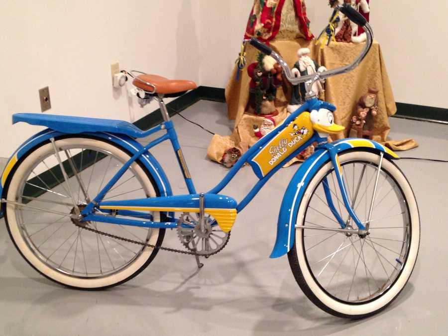 """A classic """"Donald Duck"""" bike."""