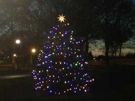 The town Christmas tree resides at Lititz Springs Park. Learn more about Lititz, visit www.lititzpa.com.
