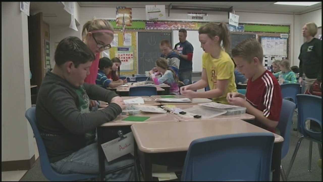 School wide engineering project takes students back to the toy-box