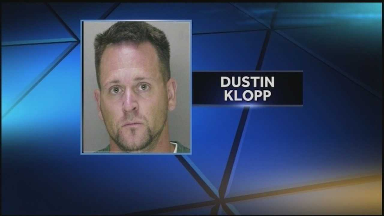 State police say 36-year-old Dustin Klopp turned himself in Christmas night and confessed to killing his wife, Stephanie Kilhefner, 34.