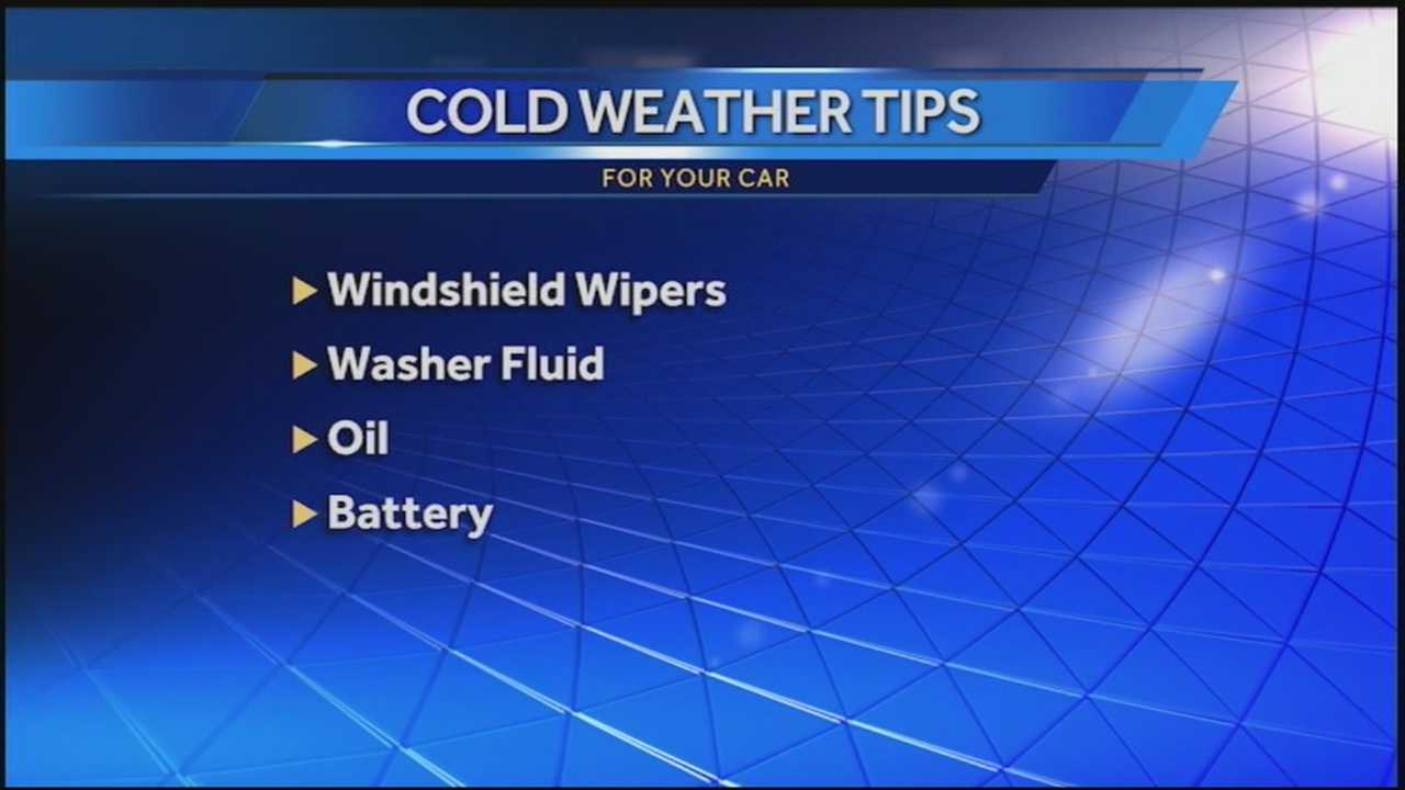 The frigid temperatures can create a lot of problems around your house and with your vehicle if you're not prepared.