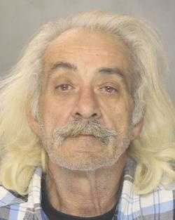 "DENNIS AUSTIN LEHMAN (63 y/o, 165 lbs., 73 in"") Lehman is wanted for alleged vehicle/property damage from an accident."