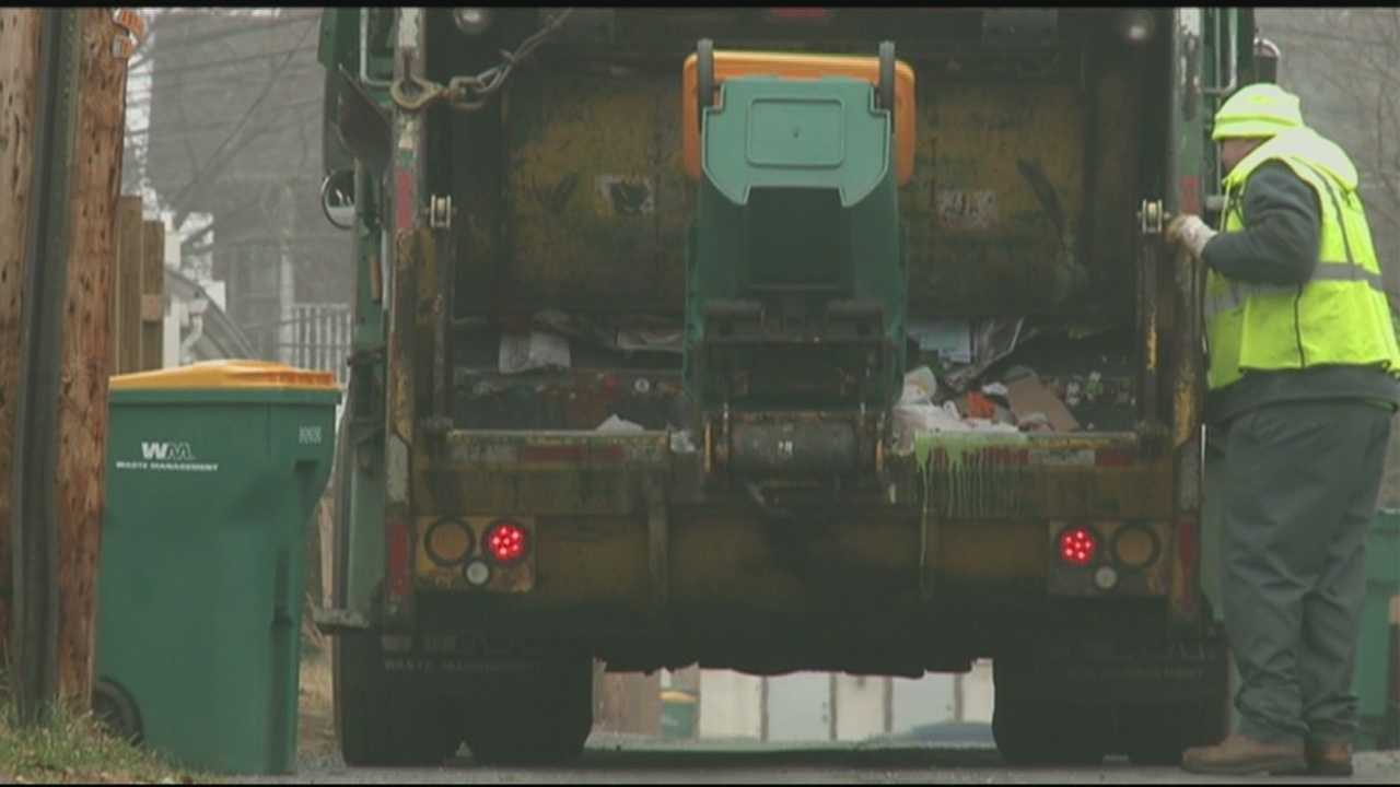 One community is experimenting with a program that will offer rewards points to those who recycle.