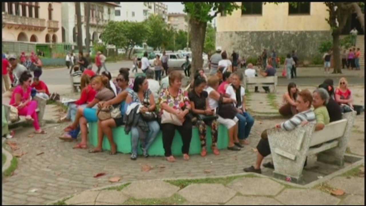 Americans can visit Cuba as part of a cultural tour.