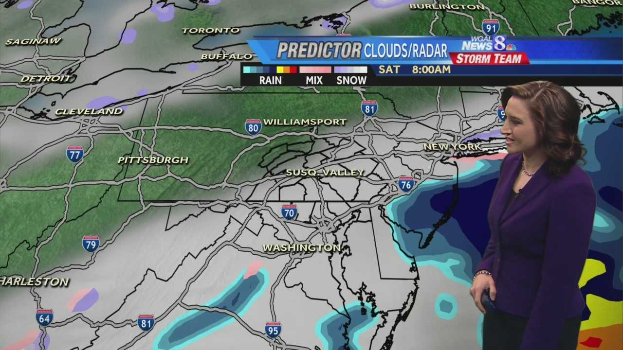 Christine Ferreira is tracking a system that could bring snow this weekend, and possibly impact the Monday morning commute.