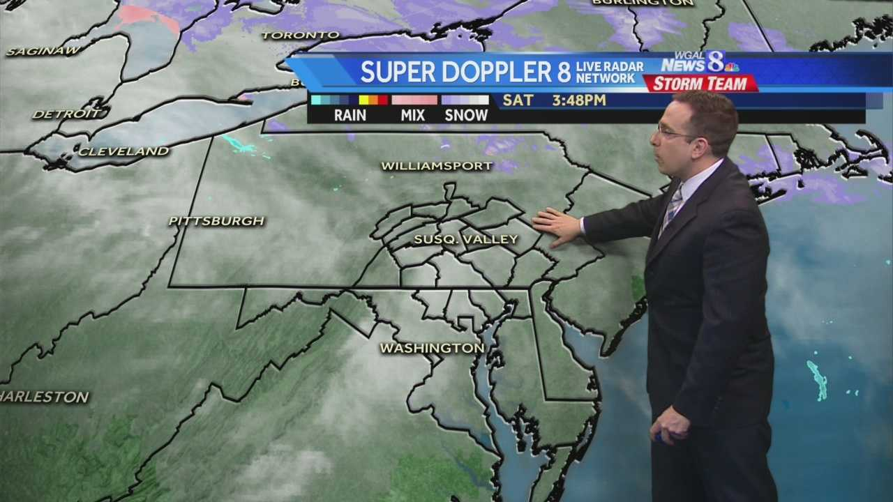 News 8 Storm Team Meteorologist Ethan Huston has the forecast.