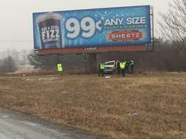 The accident happened on Monday morning along Route 30.