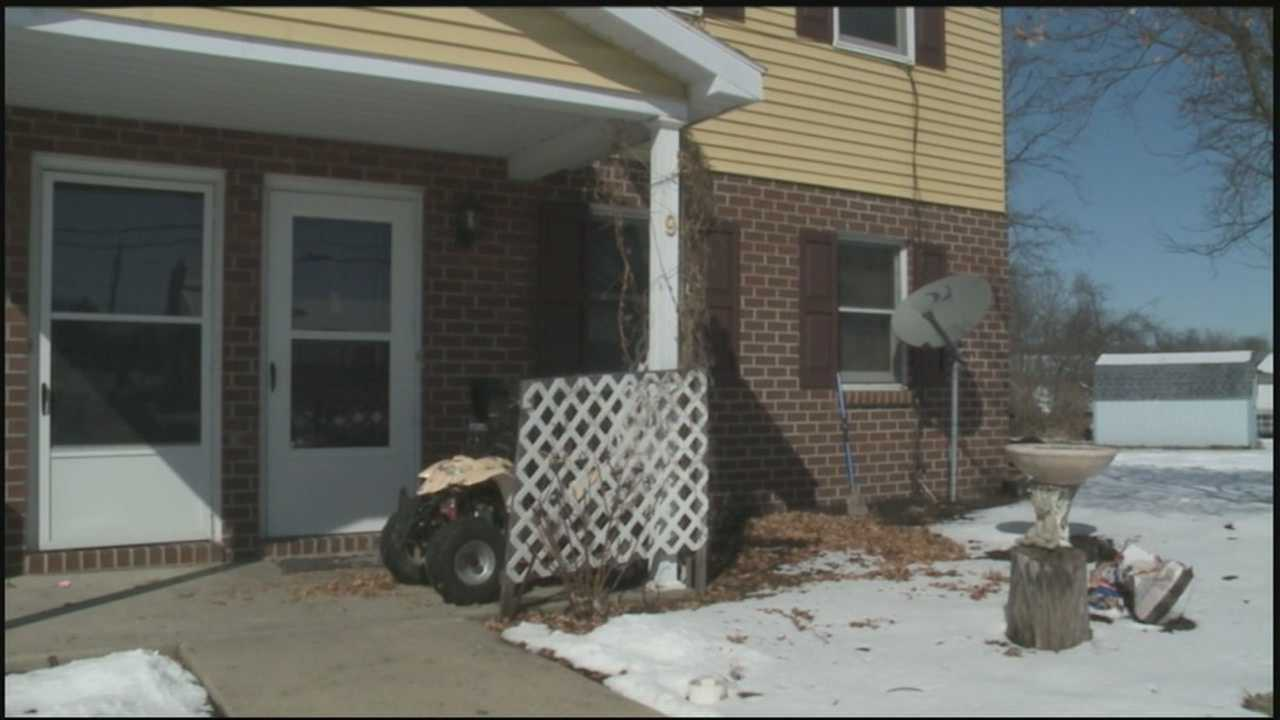 Police are searching for two men who police say shot a man after trying to rob his house.