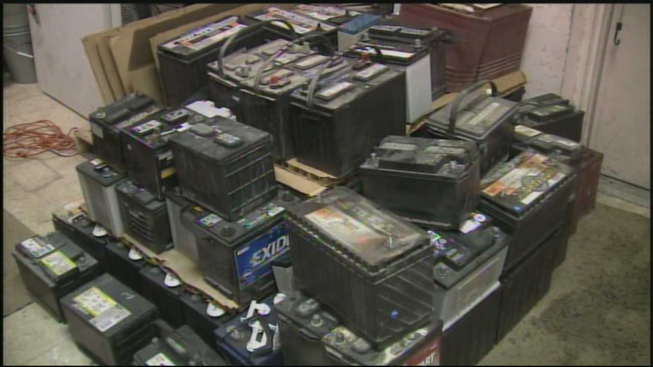 AAA is getting a record number of calls for storm-related problems with nearly half being for dead batteries.