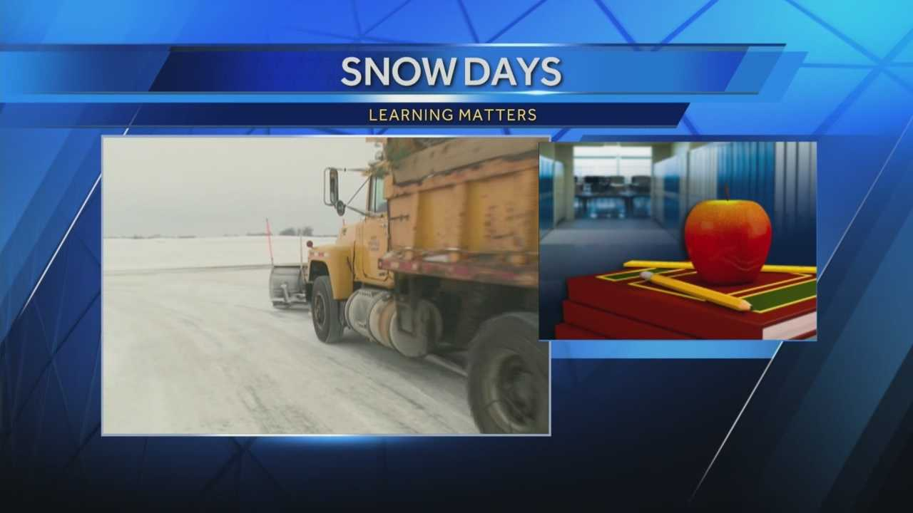 Students across the state may not have to make up snow days the way they used to.