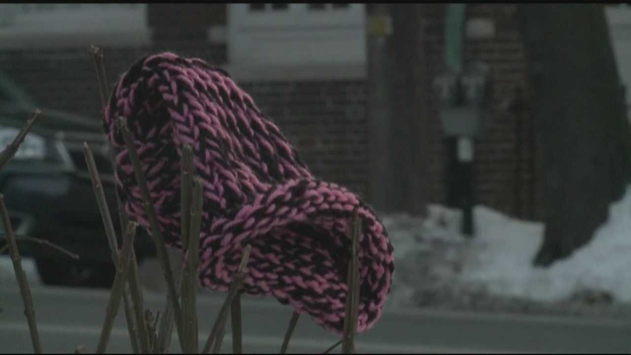 It's not just hats and scarves tied randomly to tree and benches. It's 'Wrap Up Lancaster.'