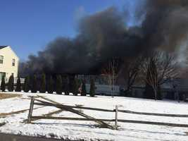 Neighbors say the garage was used to store cars.