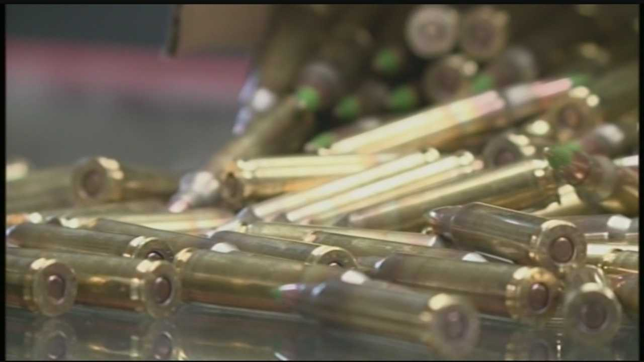 A proposed ban on some popular ammunition is already affecting Susquehanna Valley gun stores.