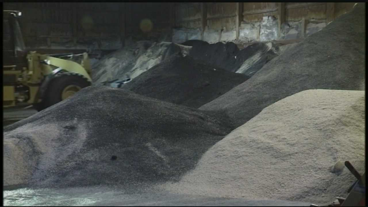 Half a dozen townships and municipalities in Dauphin and Cumberland counties are low or nearly out of salt as the latest storm bears down.