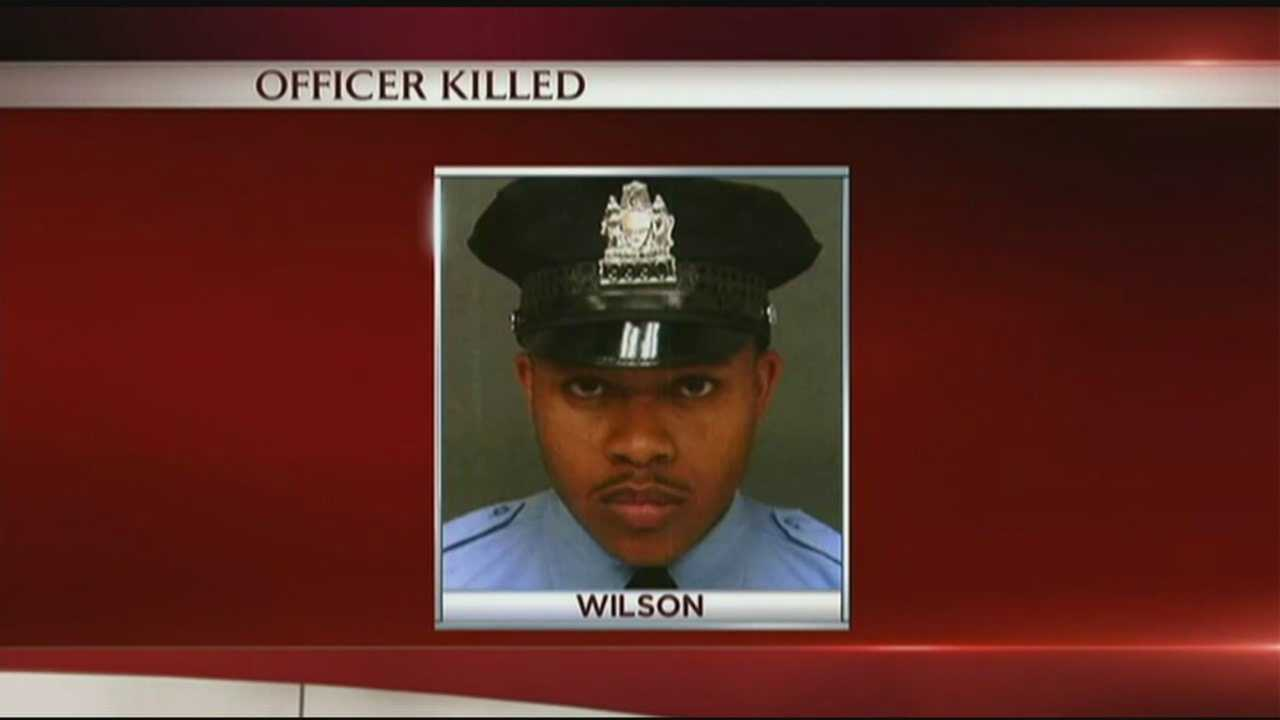 A Philadelphia police officer was shot and killed in the line of duty Thursday.