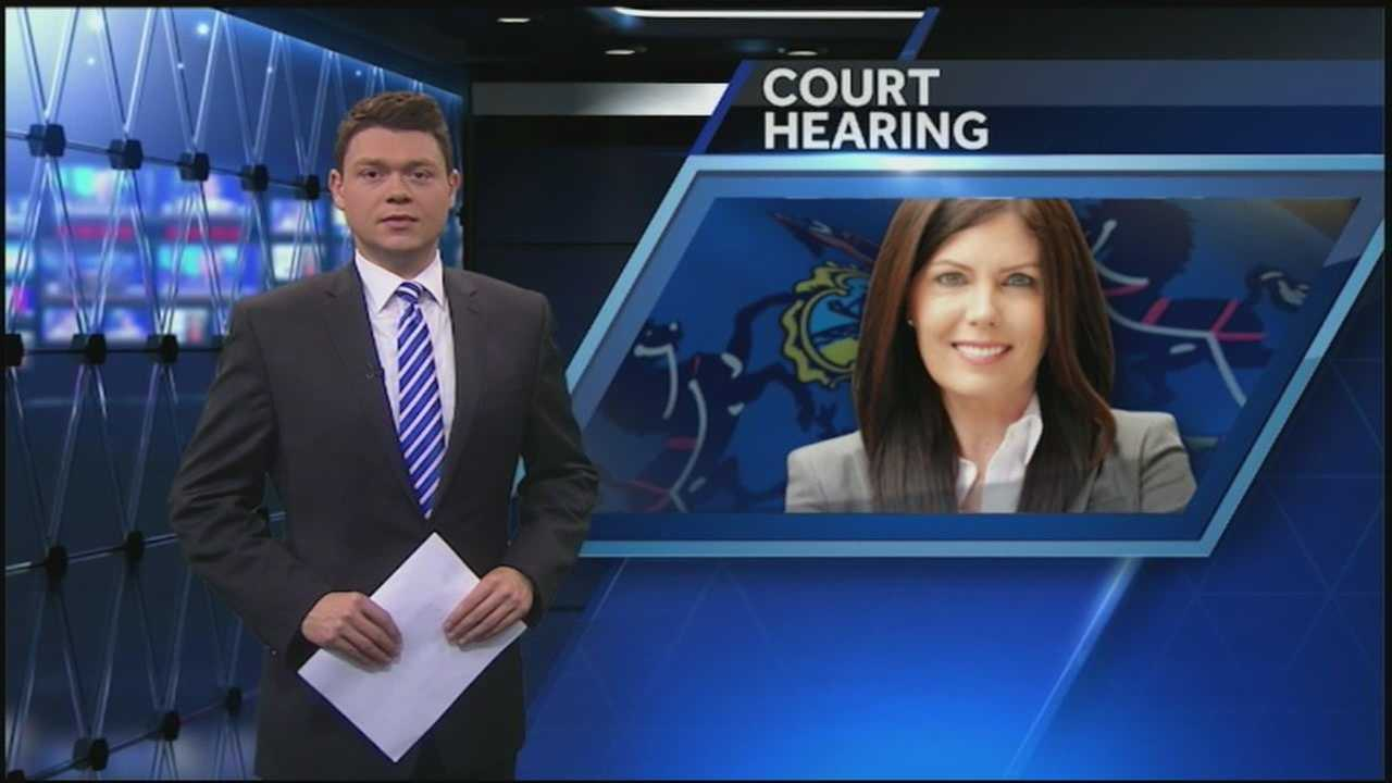State Attorney General Kathleen Kane was in a Philadelphia court Wednesday fighting the investigation that led to criminal charges against her.