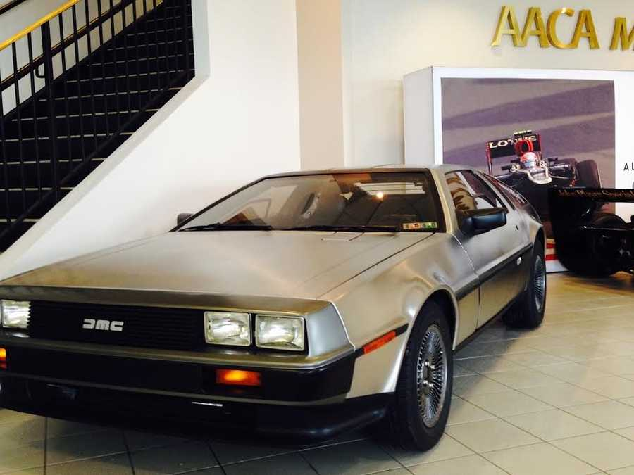 Pictured: 1981 DeLorean DMC12