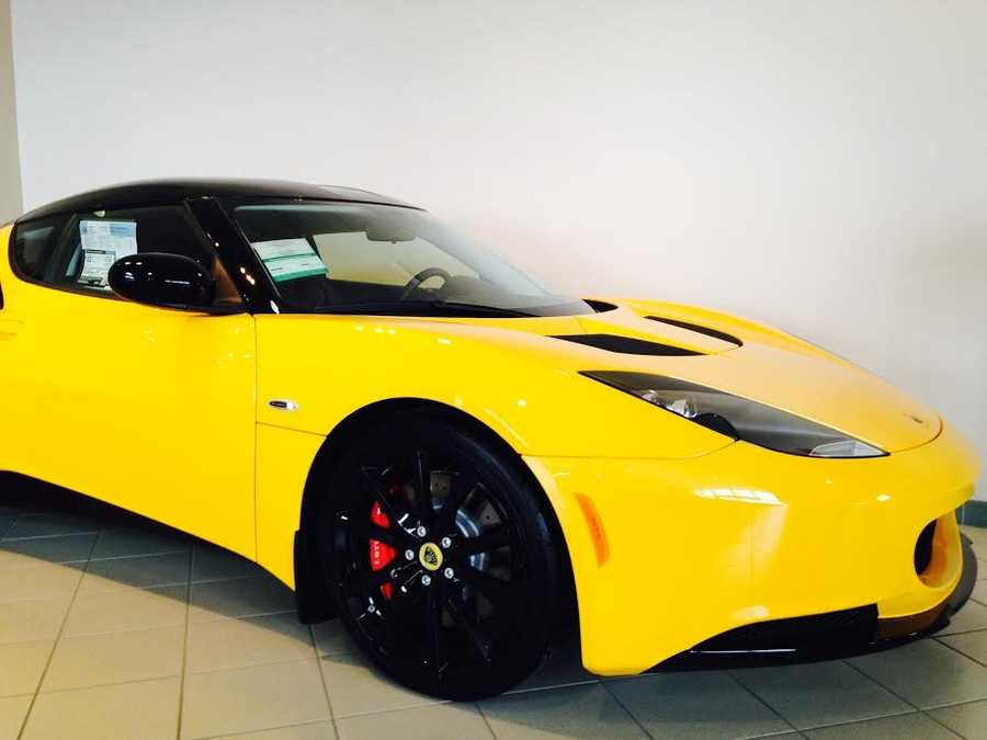 Pictured: 2014 Lotus Evora S Type 122