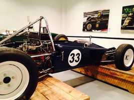 Pictured: 1970 Lotus Type 61MX