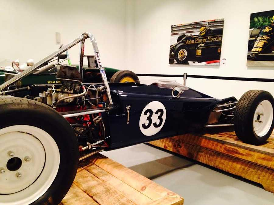 Pictured: 1970 Lotus Type 61MX