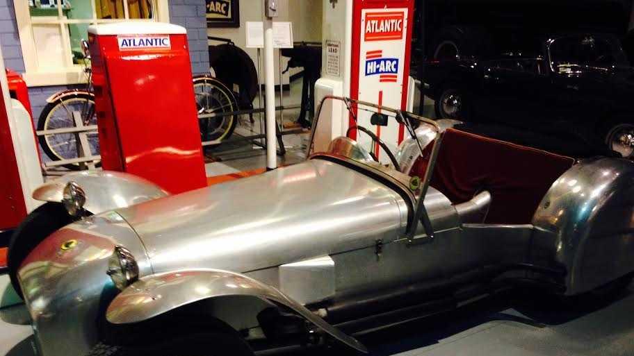 Pictured: 1956 Lotus Mark VI