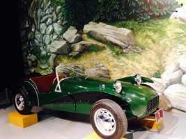Pictured: 1962 Lotus Seven S2 America