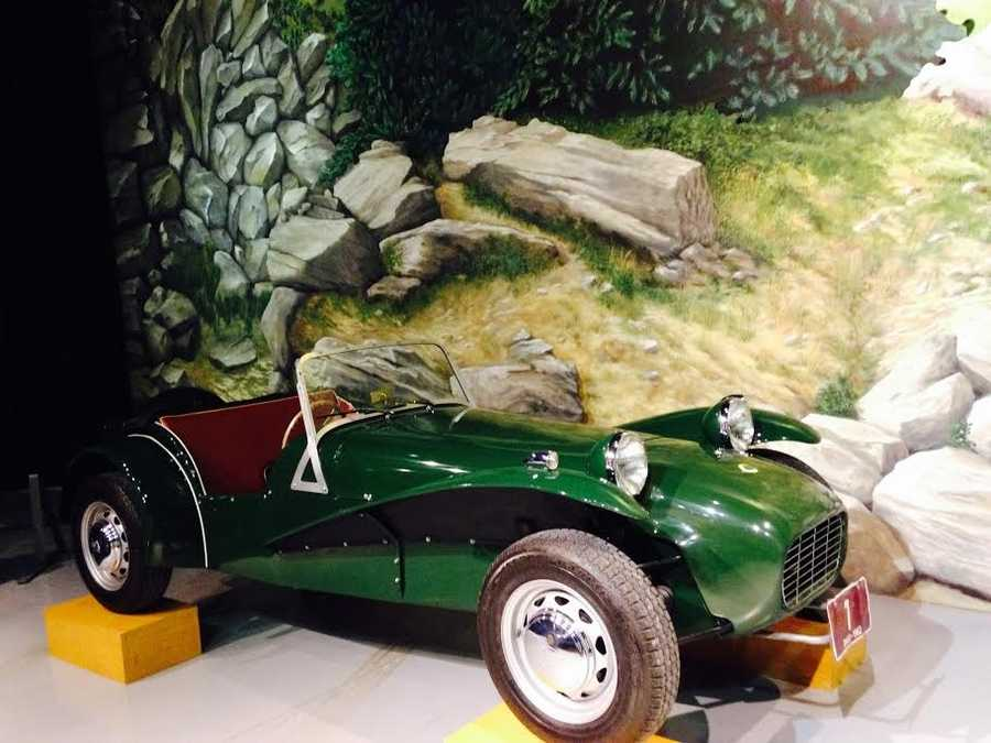 Pictured: 1962 Lotus Seven S2 America
