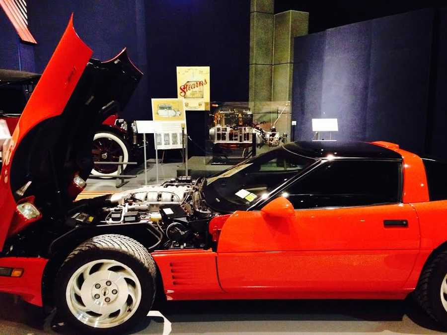 Pictured: 1993 Chevy Corvette ZR1 with Lotus engine