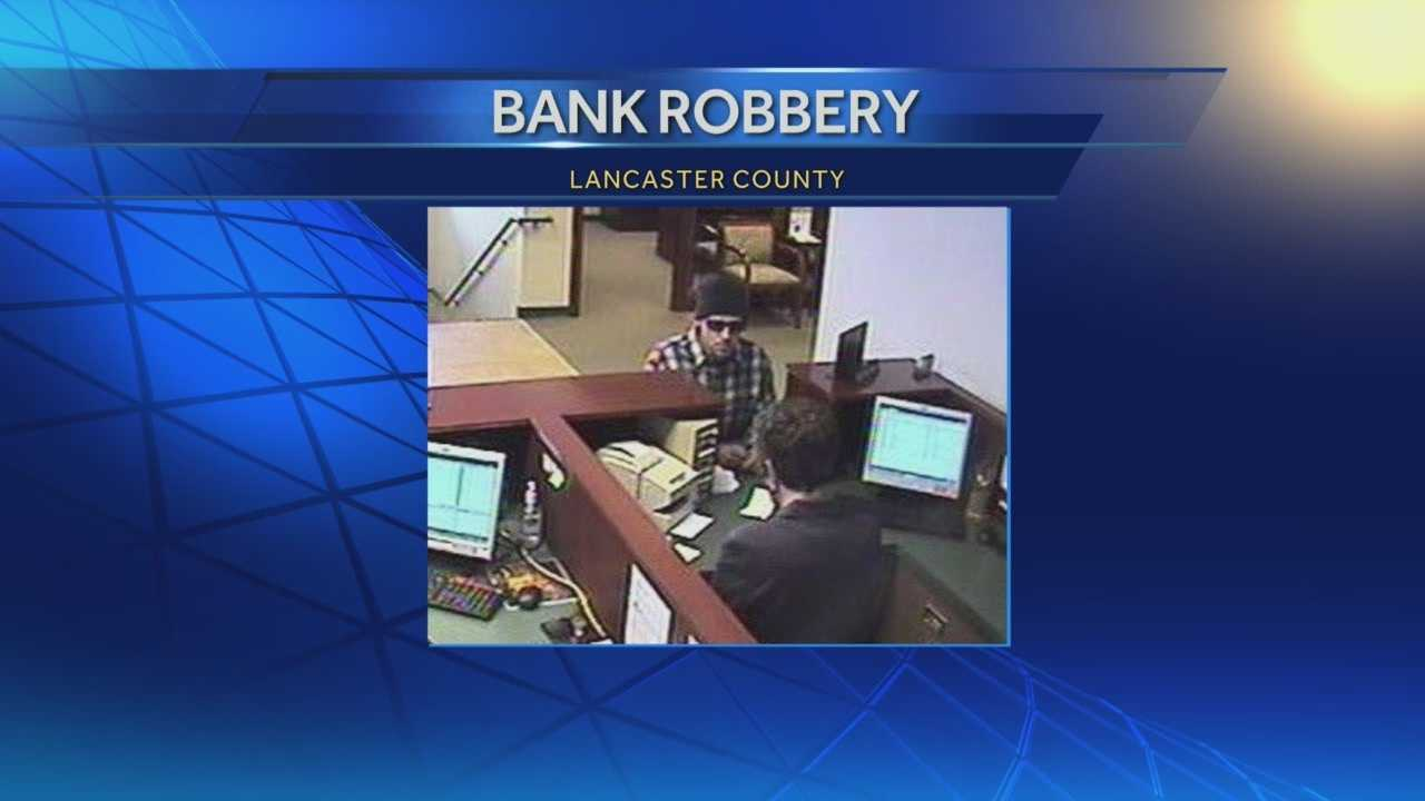 Police are looking for a man who robbed an Ephrata bank Monday morning.