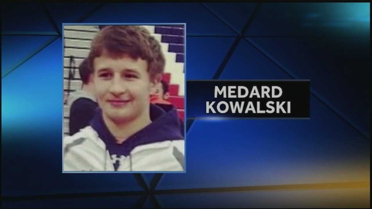 The family of Medard Kowalski visited the York Haven dam today after a body was found there.