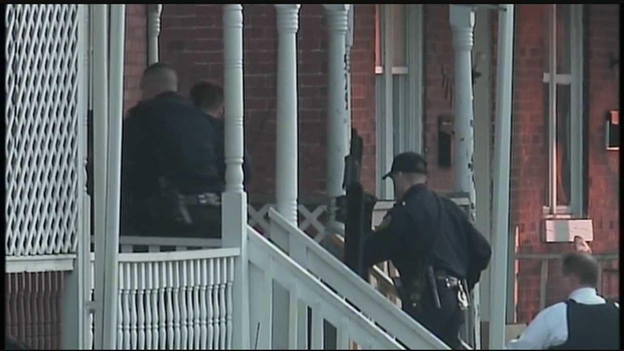 Police storm the home, but did not find the shooter inside.