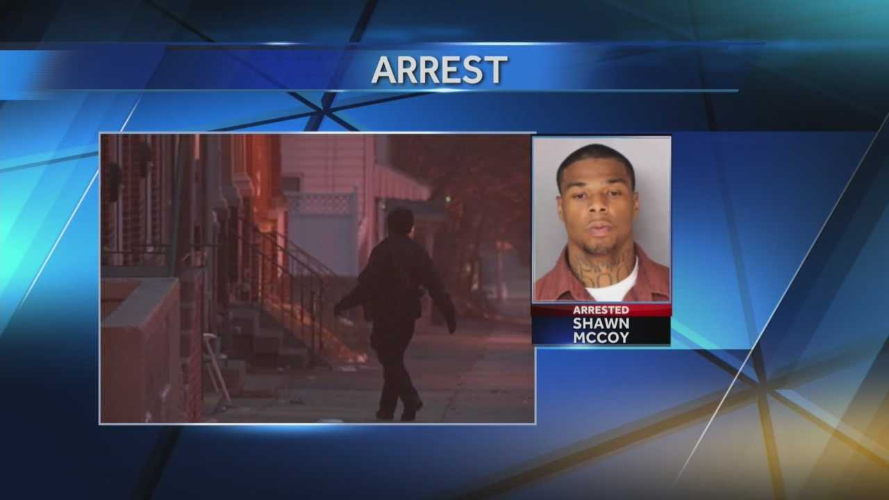 Harrisburg police arrest the man accused of firing at officers earlier this week.