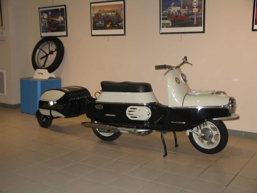 1962 CZ Cezeta 504 with PAV 40 Trailer