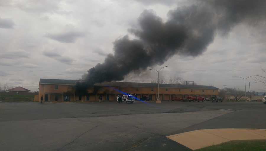 A fire broke out at the Rodeway Inn, located on the 2300 block of Lincoln Highway East (Route 30), Tuesday afternoon.