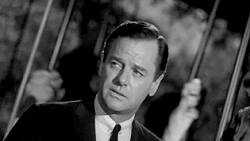 """Gig Young plays a world-weary man in """"Walking Distance"""""""
