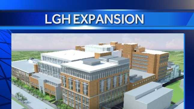PICTURED: Proposed new patient tower for Lancaster General Hospital.